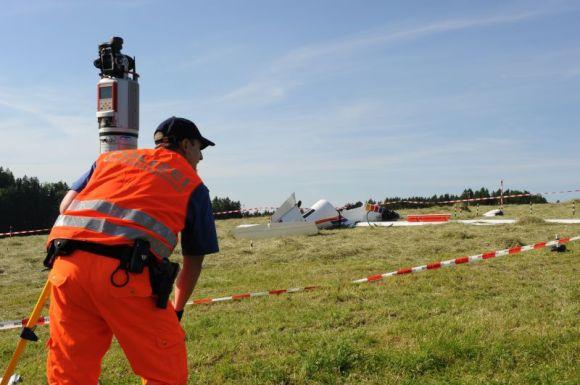 Zürichin kantoninpolisiisi käyttää Riegl VZ-400 skanneria monipuolisesti onnettomuus- ja rikospaikkatutkimuksessa.